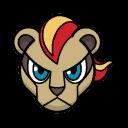 Bild von Pyroleo aus Pokémon Link Battle