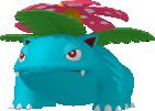 Bisaflor-Sprite aus Pokédex 3D Pro