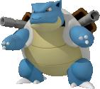 Turtok-Sprite aus Pokédex 3D Pro