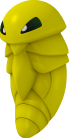 Kokuna-Sprite aus Pokédex 3D Pro