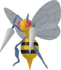Bibor-Sprite aus Pokédex 3D Pro