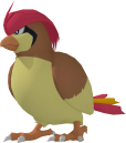 Tauboga-Sprite aus Pokédex 3D Pro