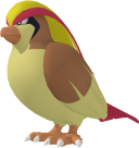 Tauboss-Sprite aus Pokédex 3D Pro