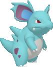 Nidorina-Sprite aus Pokédex 3D Pro
