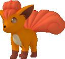 Vulpix-Sprite aus Pokédex 3D Pro