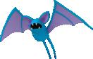 Zubat-Sprite aus Pokédex 3D Pro