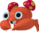 Paras-Sprite aus Pokédex 3D Pro