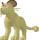 Snobilikat-Sprite aus Pokédex 3D Pro