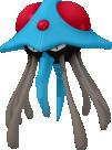 Tentoxa-Sprite aus Pokédex 3D Pro