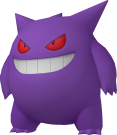 Gengar-Sprite aus Pokédex 3D Pro