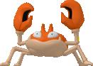 Krabby-Sprite aus Pokédex 3D Pro