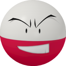 Lektrobal-Sprite aus Pokédex 3D Pro