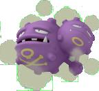 Smogmog-Sprite aus Pokédex 3D Pro