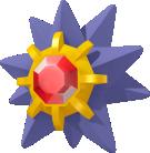 Starmie-Sprite aus Pokédex 3D Pro