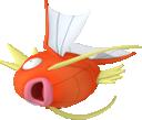 Karpador-Sprite aus Pokédex 3D Pro