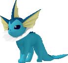 Aquana-Sprite aus Pokédex 3D Pro