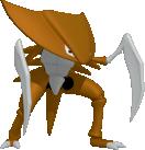 Kabutops-Sprite aus Pokédex 3D Pro