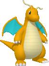 Dragoran-Sprite aus Pokédex 3D Pro