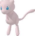 Mew-Sprite aus Pokédex 3D Pro