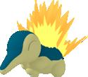 Feurigel-Sprite aus Pokédex 3D Pro
