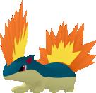 Igelavar-Sprite aus Pokédex 3D Pro