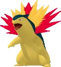 Tornupto-Sprite aus Pokédex 3D Pro
