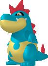 Tyracroc-Sprite aus Pokédex 3D Pro