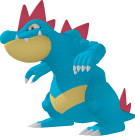 Impergator-Sprite aus Pokédex 3D Pro