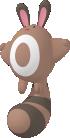 Wiesor-Sprite aus Pokédex 3D Pro