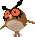 Hoothoot-Sprite aus Pokédex 3D Pro
