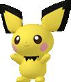 Pichu-Sprite aus Pokédex 3D Pro