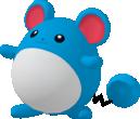 Marill-Sprite aus Pokédex 3D Pro