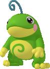 Quaxo-Sprite aus Pokédex 3D Pro