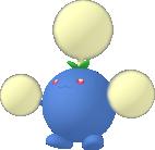 Papungha-Sprite aus Pokédex 3D Pro