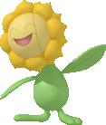 Sonnflora-Sprite aus Pokédex 3D Pro