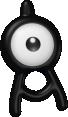 Icognito-Sprite aus Pokédex 3D Pro