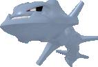 Stahlos-Sprite aus Pokédex 3D Pro