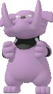 Granbull-Sprite aus Pokédex 3D Pro