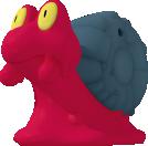 Magcargo-Sprite aus Pokédex 3D Pro
