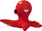 Octillery-Sprite aus Pokédex 3D Pro