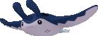 Mantax-Sprite aus Pokédex 3D Pro