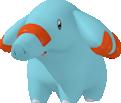 Phanpy-Sprite aus Pokédex 3D Pro