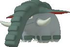 Donphan-Sprite aus Pokédex 3D Pro
