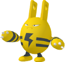 Elekid-Sprite aus Pokédex 3D Pro