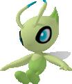 Celebi-Sprite aus Pokédex 3D Pro