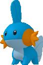 Hydropi-Sprite aus Pokédex 3D Pro