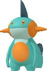 Moorabbel-Sprite aus Pokédex 3D Pro