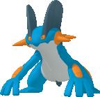 Sumpex-Sprite aus Pokédex 3D Pro