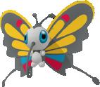 Papinella-Sprite aus Pokédex 3D Pro