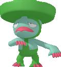 Lombrero-Sprite aus Pokédex 3D Pro